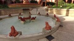 Florida StAugustine FlaglerCollege FormerPonceDeLeon Hotel 05 Stock Footage