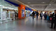 Sharm el sheikh airport duty free Stock Footage