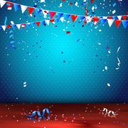 Stock Illustration of Independence day