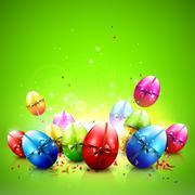 Easter background Stock Illustration