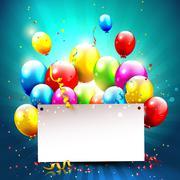 Celebration background - stock illustration