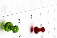 calendar or schedule - stock illustration