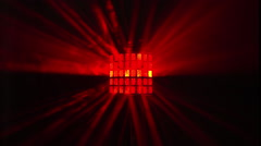 disco lights laser club neon party entertainment - stock footage