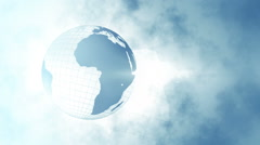 Corporate Globe  Stock Footage