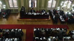 Councilors in the Assembly Stock Footage