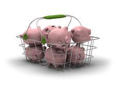 Saving money concept Stock Illustration