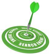 SEO Search engine optimization - stock illustration