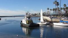 Redondo Beach King Harbor Stock Footage