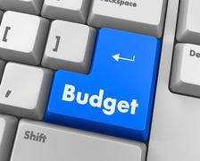 Budget Stock Illustration