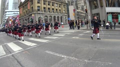 Stock Video Footage of Saint Patrick's Day Parade