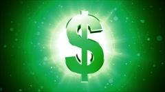 Dollar Flow 3 Stock Footage