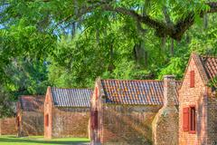 Historic Slave Quarters Stock Photos