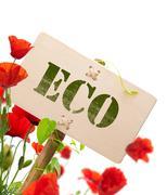 Eco sign Stock Photos