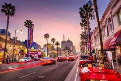 Hollywood, Los Angeles Stock Photos