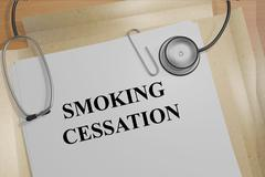Smoking Cessation concept Stock Illustration