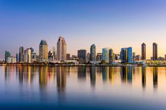 San Diego Skyline Kuvituskuvat