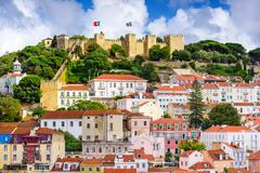 Lisbon Portugal Castle Kuvituskuvat