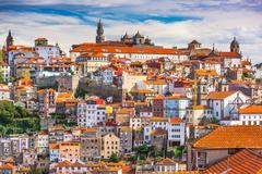 Porto, Portugal Skyline Stock Photos