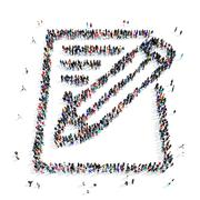 People questionnaire icon Stock Illustration