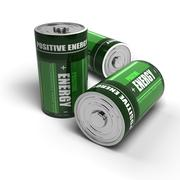 Positive energy - batteries concept, meditation, relaxation Stock Illustration