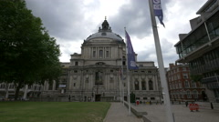 The Methodist Central Hall in London - stock footage