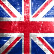 Great britain flag Stock Illustration