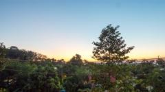 Phuket island sunrise panorama 4k time lapse thailand Stock Footage