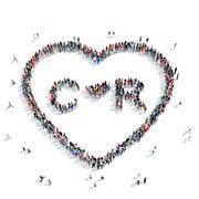 People  heart blood medicine Piirros