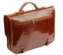 Old Fashioned Briefcase - stock photo