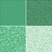 Multicoloured tiles. Mosaic. Eps 10. - stock illustration