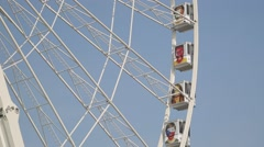 Grande Roue de Paris - Paris, France Stock Footage