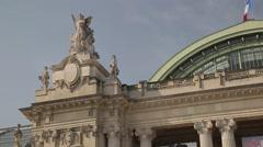 Grand Palais CLOSE UP - Paris, France - stock footage