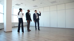This Spacious Office - a Good Offer for This Money Stock Footage