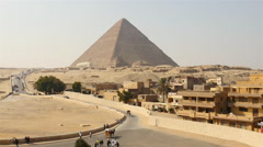The Great Pyramids of Giza - Egypt - stock footage
