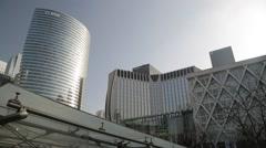 La Défense (Business District) - Paris, France Stock Footage