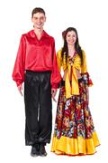 Stock Photo of Gypsy flamenco dancer couple