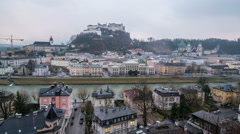 Stock Video Footage of Salzburg city center