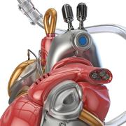 concept robot heart - stock illustration