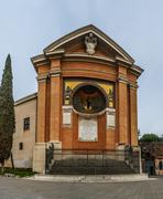 Chapel of San Lorenzo in Rome, Italy Stock Photos