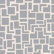 Stock Illustration of Vector modern seamless geometry pattern squares, grey abstract geometric