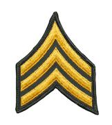 Army Sergeant Patch Stock Photos