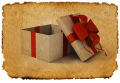 Stock Illustration of gift box