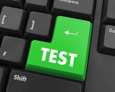 test - stock illustration