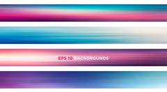 Full HD Web Banners. Vector file. - stock illustration