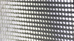 The macro zoom of diode panel. Real time capture - stock footage