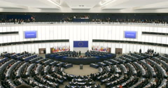 Plenary session of European Parliament Jean-Claude Juncker Stock Footage