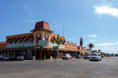 Stock Photo of colonial German architecture in Swakopmund