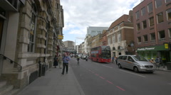Borough High Street in London - stock footage