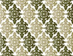 Antique ottoman turkish pattern vector design fourty four Stock Illustration