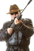 Man with gun Stock Photos